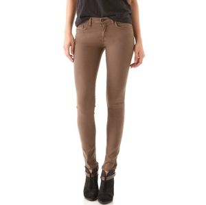 Rag and Bone Skinny Jeans in Caper Brown Size 27